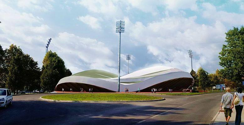 [PHOTOS] New Football Stadium for Zagreb Presented