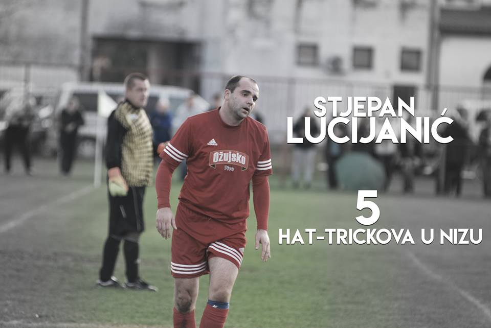 Stjepan Lucijanić set a new record (photo credit: NK Dračice}