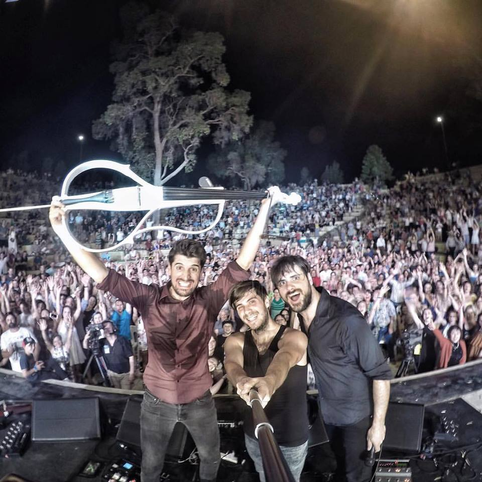 2CELLOS in Perth opening their tour (photo credit: Facebook)