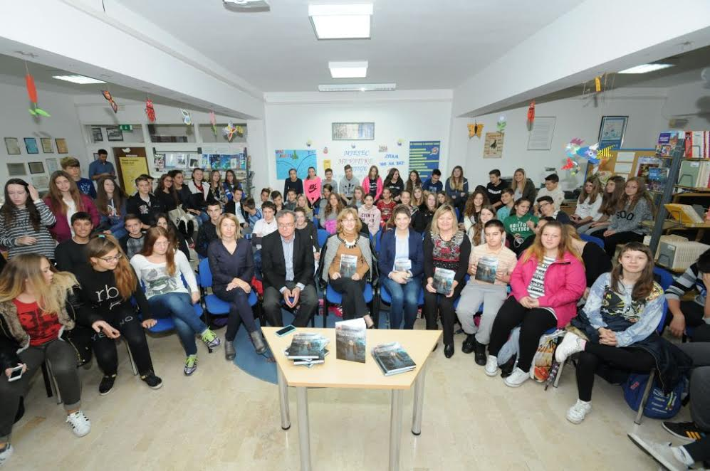 Bojana has spoken at over 200 schools in Croatia