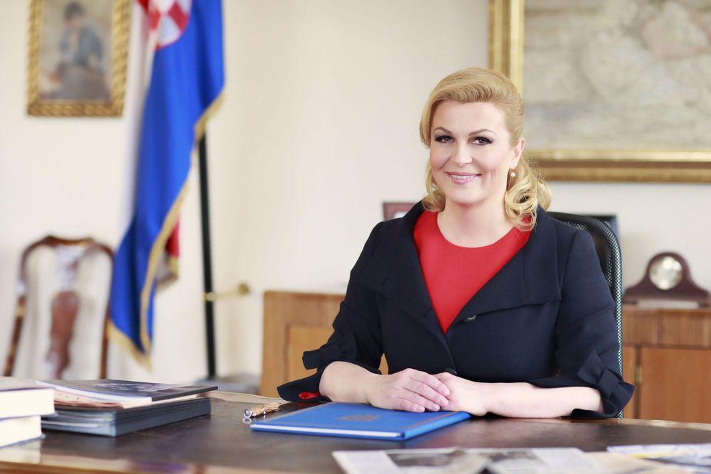 Croatian President Kolinda Grabar-Kitarović (Ured Predsjednice)