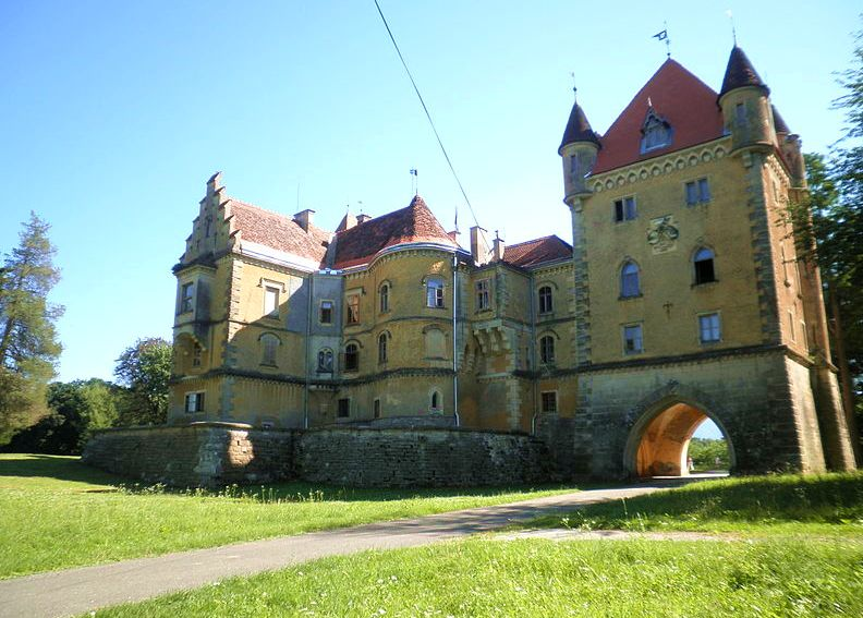 Maruševec Castle (photo credit: MaGa/Under CC)