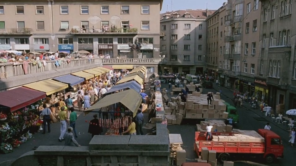 Armour of God set at Zagreb's Dolac markets