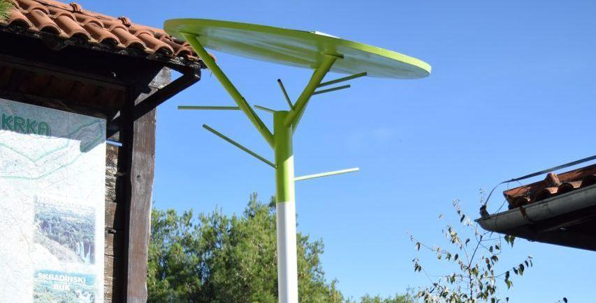 [PHOTOS] Krka National Park Gets Solar Trees