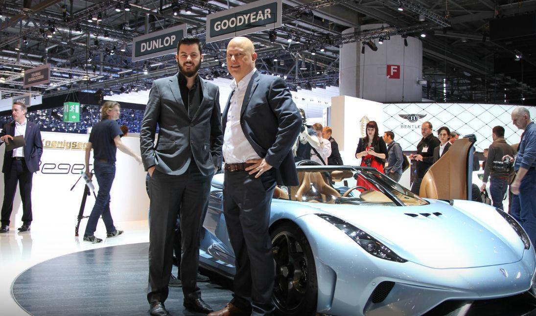 Mate Rimac (left) named on 2016 New Europe 100 list (photo: Rimac automobili)