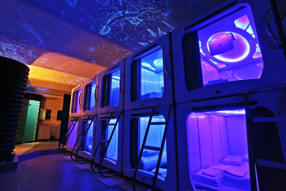 [PHOTOS] Subspace – Zagreb's First 'Space' Capsule Hostel