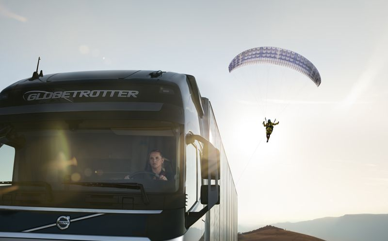 [VIDEO] Amazing Volvo Trucks 'Flying Passenger' Ad From Croatia