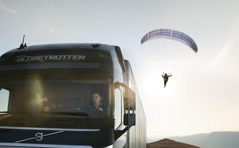 [VIDEO] Amazing Volvo Trucks 'Flying Passenger' Ad From Croatia