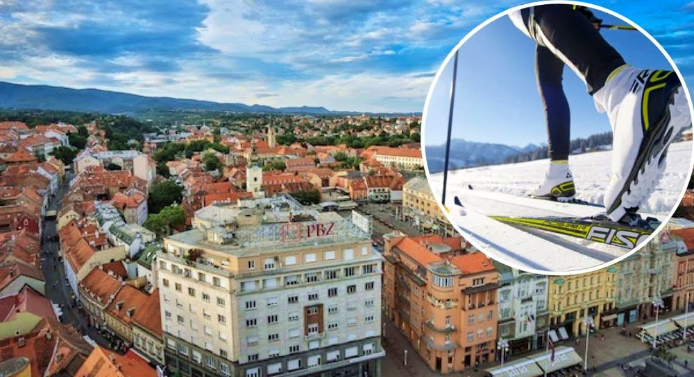 Zagreb City Centre to Turn into Ski Field for Unique Race
