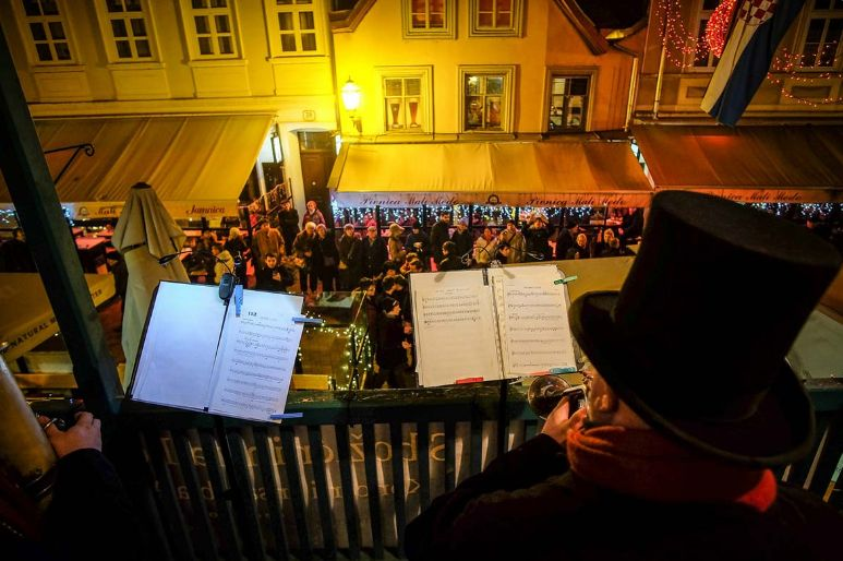 Concerts from Zagreb balconies will take place (photo credit: Zagreb Tourist Board)
