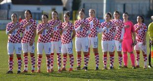 Croatia line up against Slovakia (photo credit: HNS)
