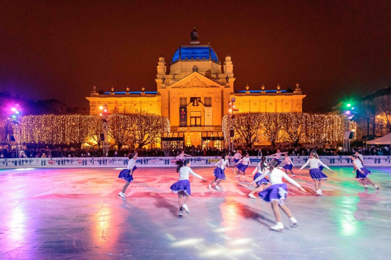 Ice Park (photo credit: Zagreb Tourist Board)