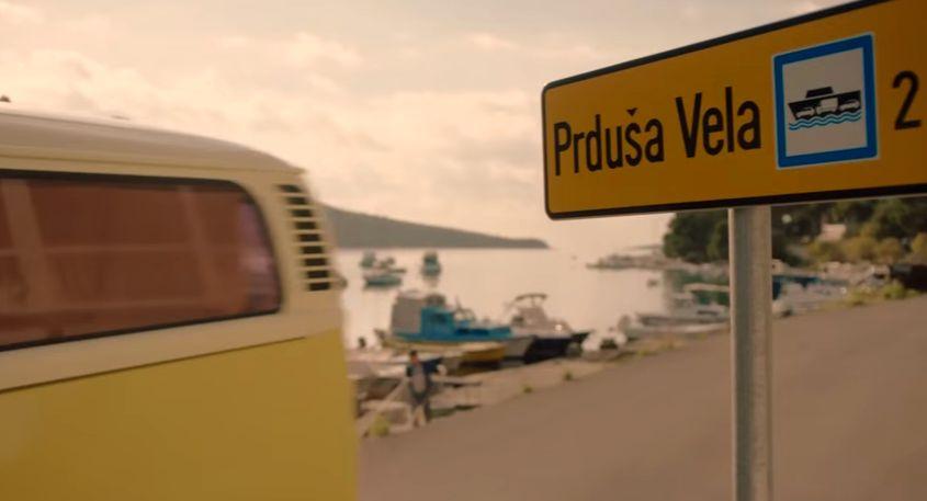 'Big Fart' - one of the odd place names in Croatia (screenshot)