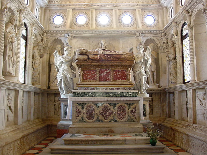 Tomb of Saint Ivan Trogiranin (photo credit: Creative Commons)