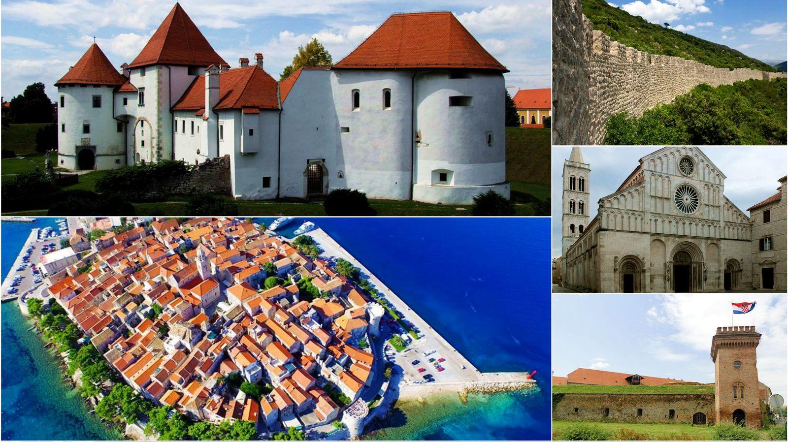 Croatian sites on UNESCO's Tentative List