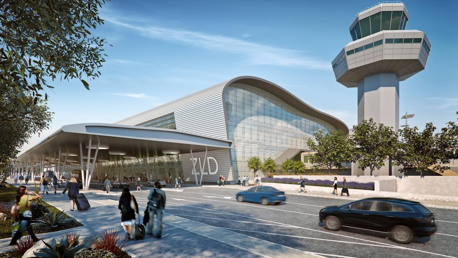 Artists impression of the new terminal (photo: ZL Dubrovnik)