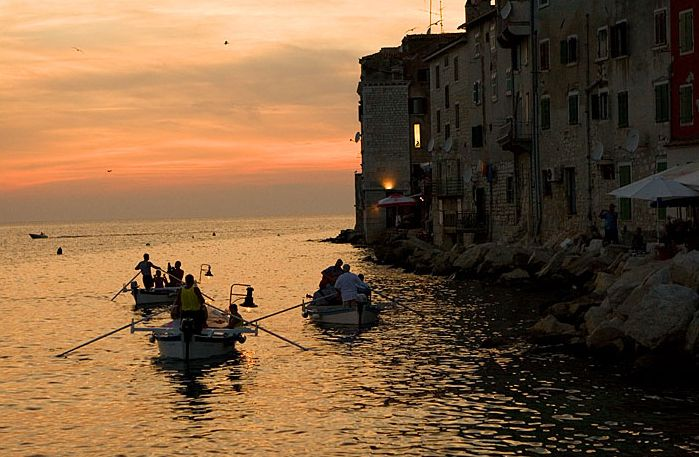 Batana in Rovnij (photo: Tourist Board Rovinj)