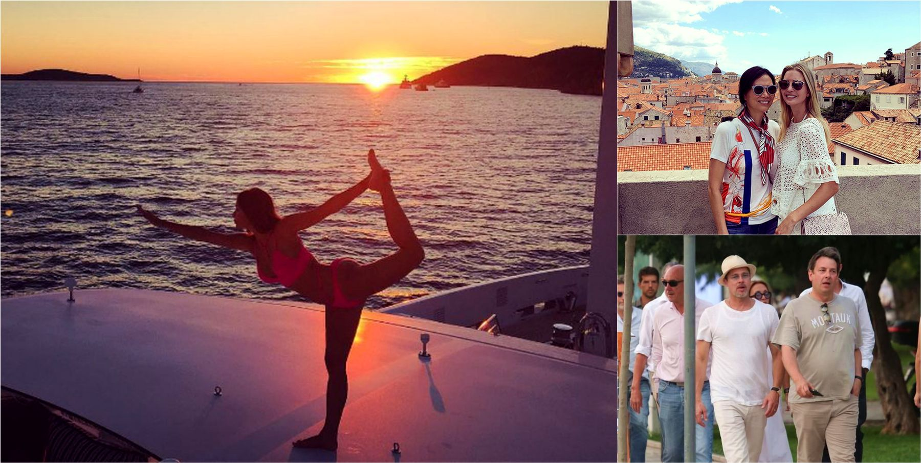 Celebrities who had Holidays in Croatia in 2016