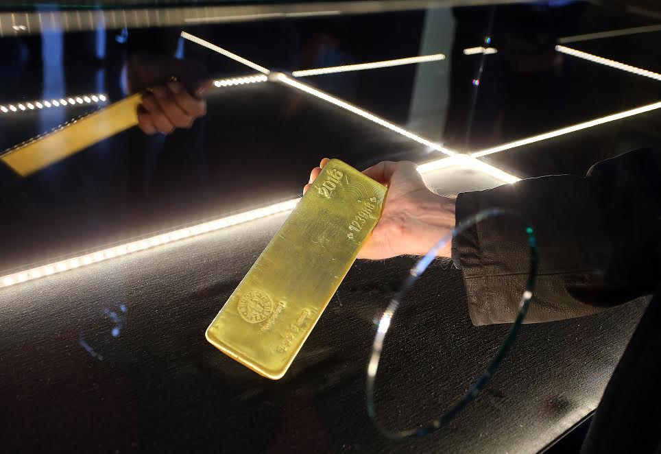 12.44 Kg Gold Bar Presented in Croatia for First Time