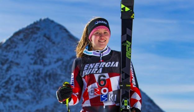 16-Year-Old Croatian Ida Štimac Becomes Best Slalom Skier in the World