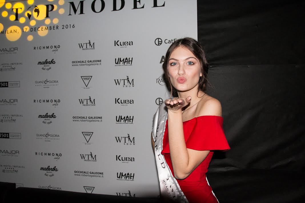 Croatian Lara Spajić Wins 2016 World Top Model Contest in Milan