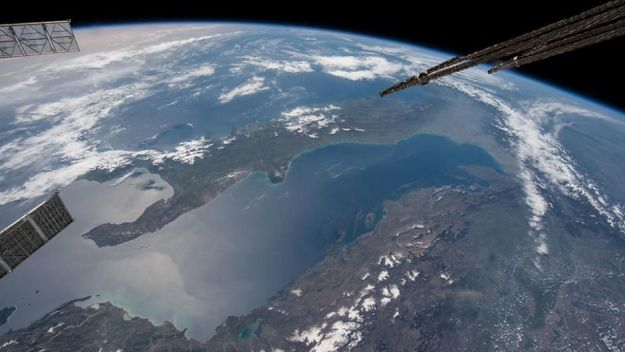 Croatia from space (NASA)