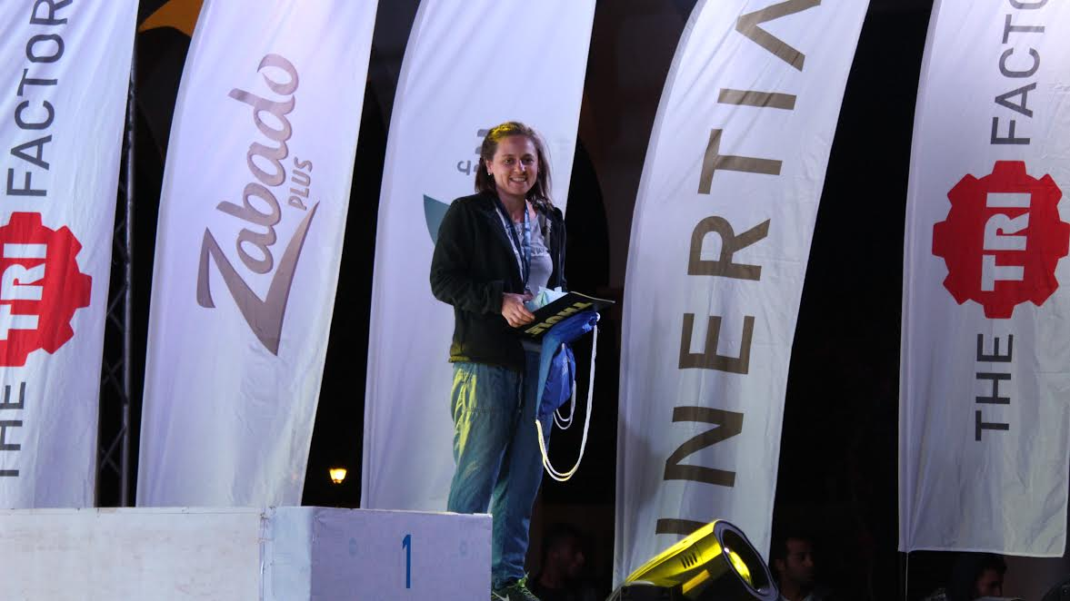 Croatian Nives Gajic Wins Bronze at the 2016 Sahl Hasheesh Triathlon