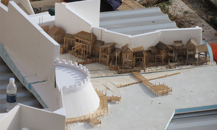 Robin Hood: Origins set taking shape in Dubrovnik on Tuesday (photo credit: The Dubrovnik Times)