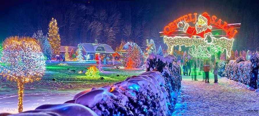 2 Million Lights Go on for Croatia's Famous Christmas Display – Salajland