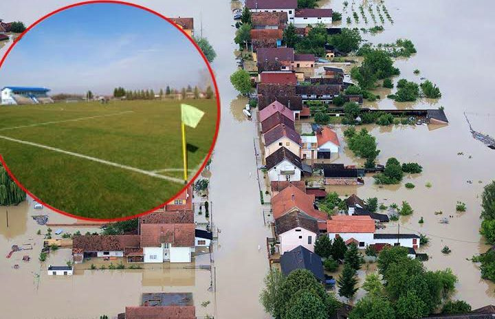 UEFA Visit Renovated Slavonian Stadiums Damaged in Catastrophic Floods