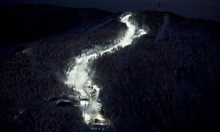 Free Night Skiing Season Opens in Zagreb