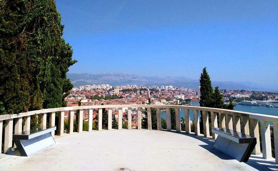 Split's Marjan hill (photo credit: include)