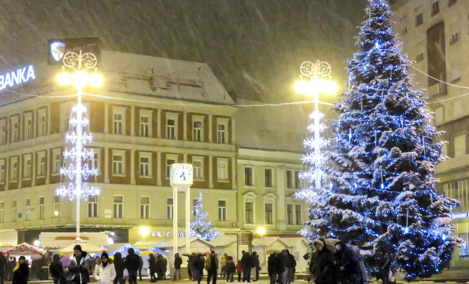 First White Christmas in Croatia in 9 Years?