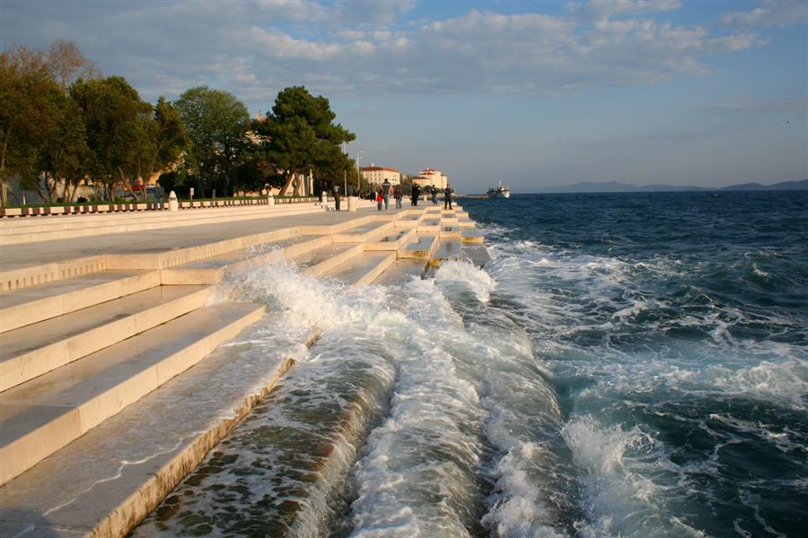Хорватия Интересные факты об Хорватии ZadarSeaOrgan