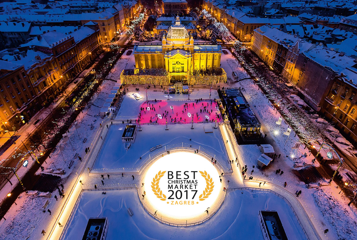 Zagreb Voted Best Christmas Market in Europe for 2nd Year in a Row
