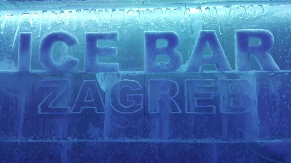 Ice Bar Opens in Zagreb