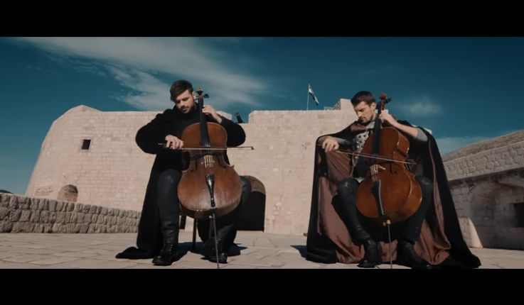 [VIDEO] 2CELLOS Playing Game of Thrones Theme Music in Dubrovnik