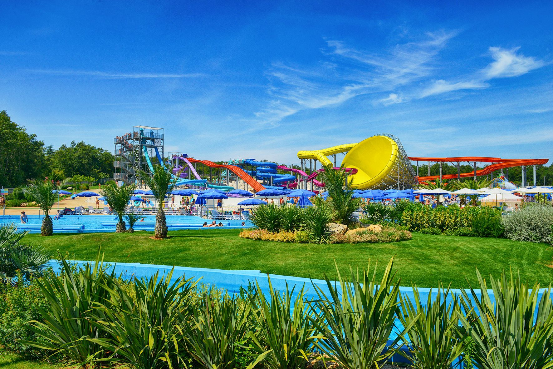 Aquapark Aquacolors Poreč – Croatia's Largest Water Park