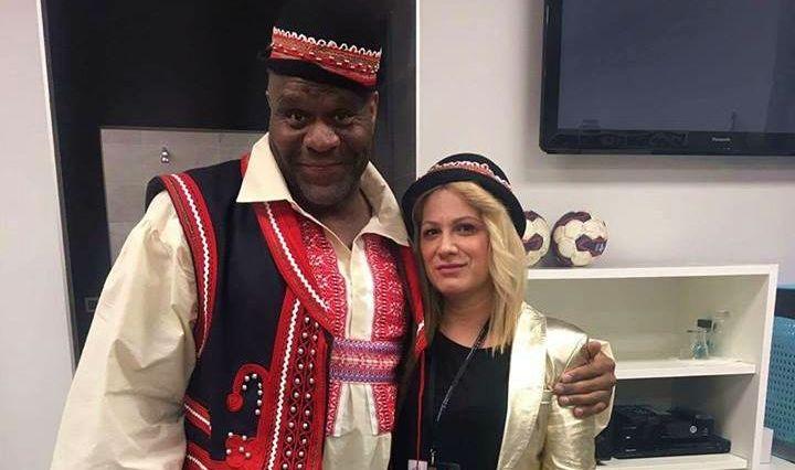 [VIDEO] MMA Star Bob Sapp Proud to Wear Traditional Croatian Costume
