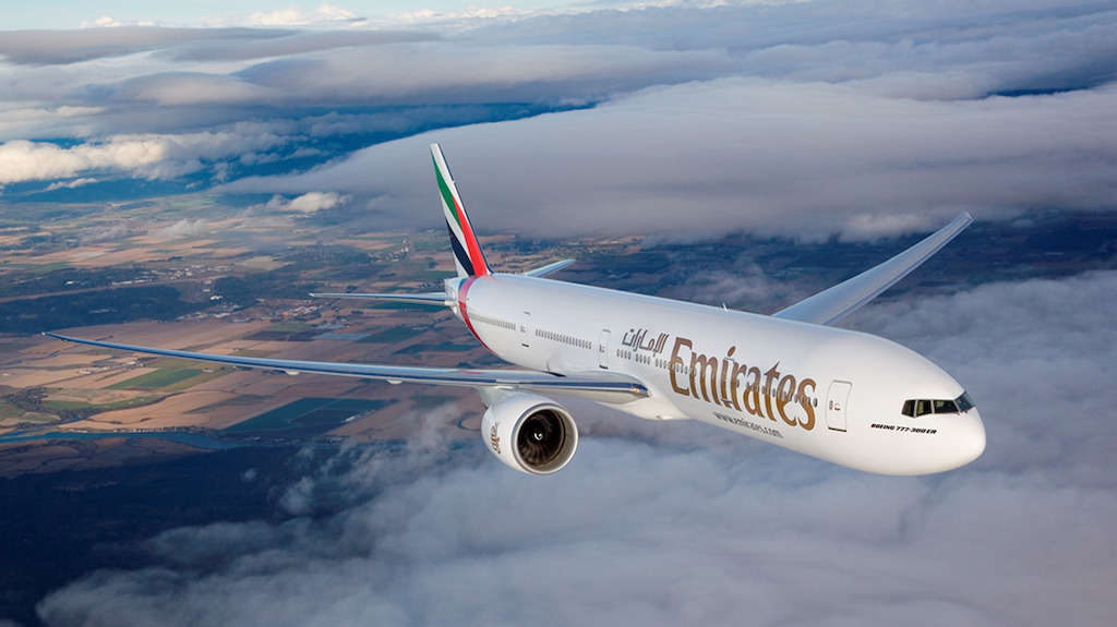 First Emirates Zagreb-Dubai Flight on 1 June