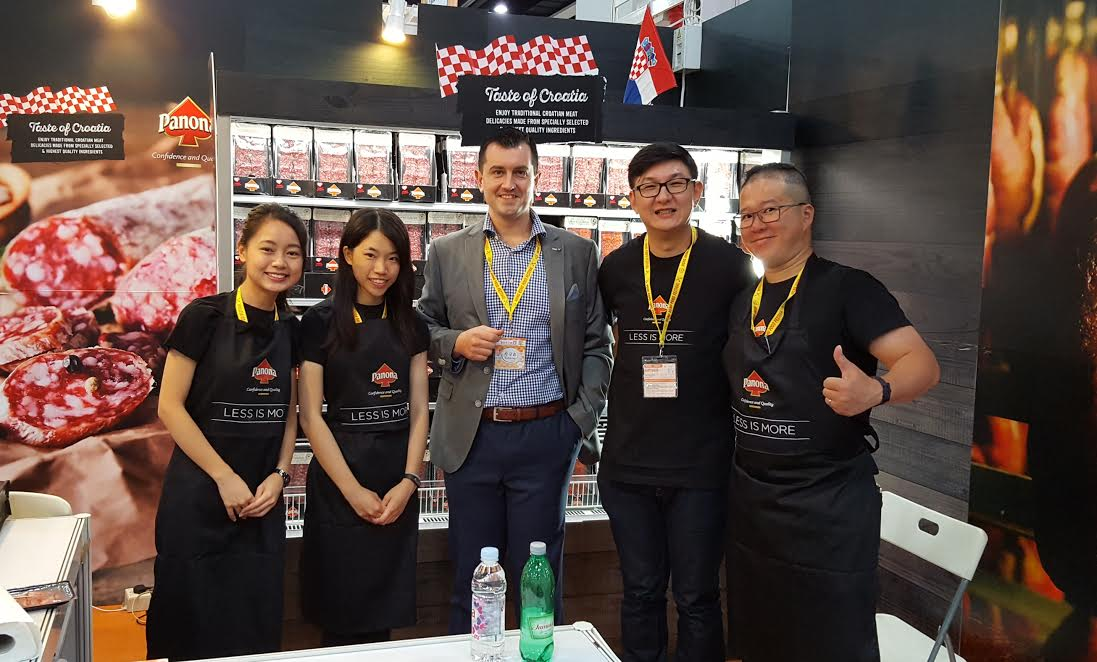 Croatian Products Presented at 14th Hong Kong Food Festival