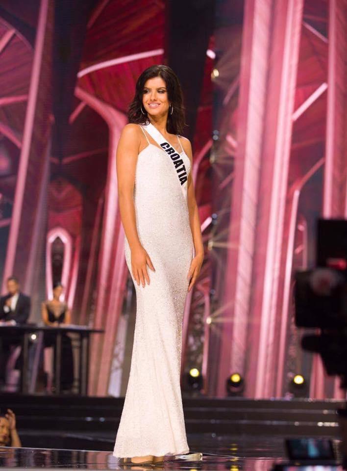 Miss Universe 2017: Miss Croatia Impresses in National ...