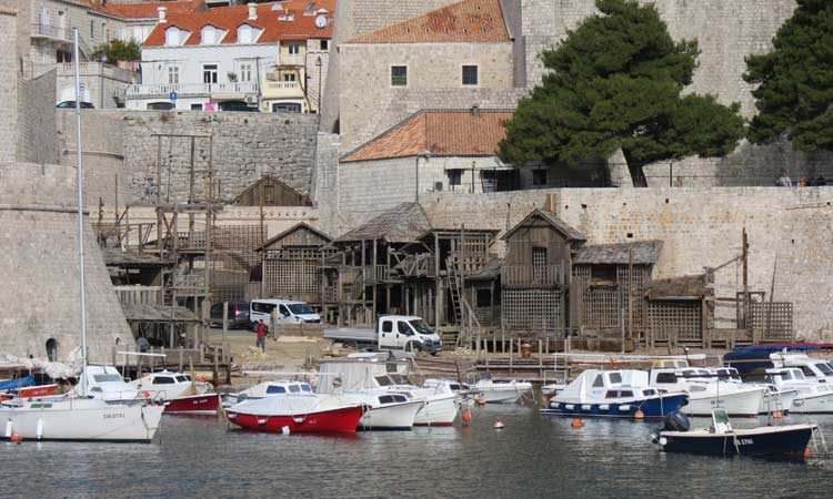 [PHOTOS] Latest Pics from the Set of Robin Hood in Dubrovnik