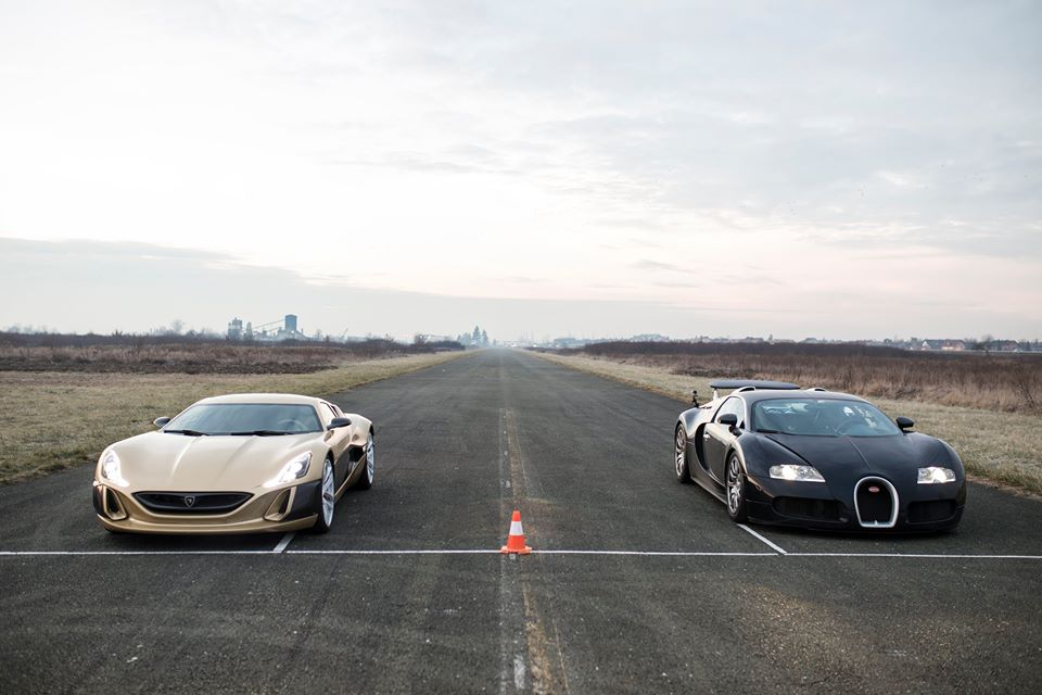 [VIDEO] Croatian Concept_One Drag Races a Bugatti Veyron