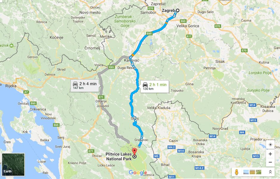 How To Get To Plitvice Lakes National Park From Zagreb Split Dubrovnik Croatia Week