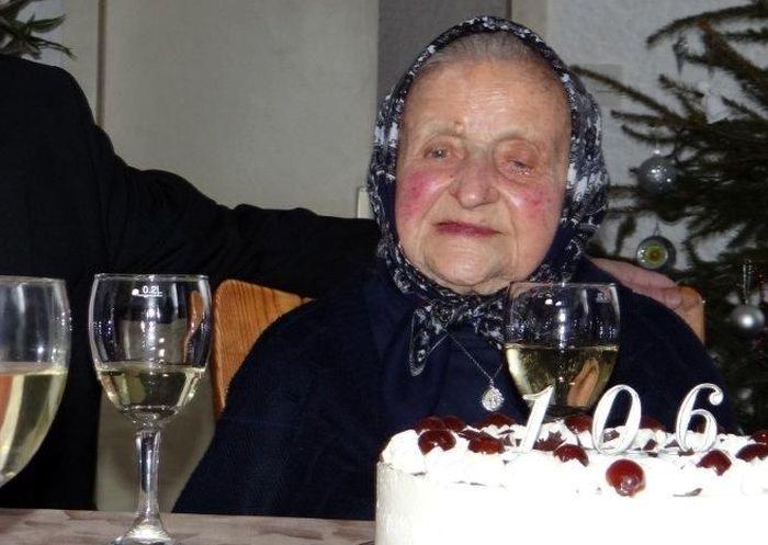 One of Croatia's Oldest Celebrates Her 106th Birthday