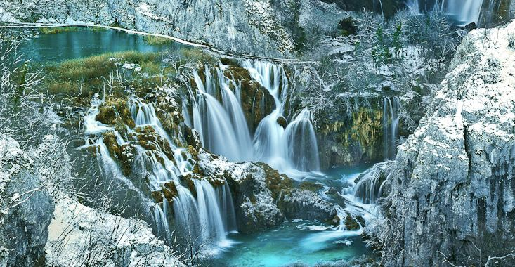 Croatian Waterfall Makes World's 25 Most Awe-Inspiring