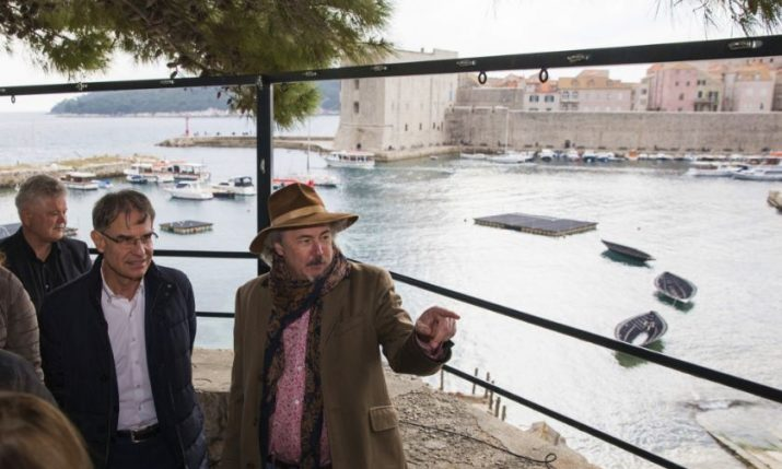"Croatian Dignitaries Welcome ""Robin Hood: Origins"" to Dubrovnik"