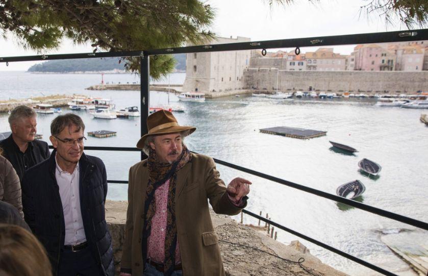 "Croatian Dignitaries Welcome ""Robin Hood: Origins"" to Dubrovnik"