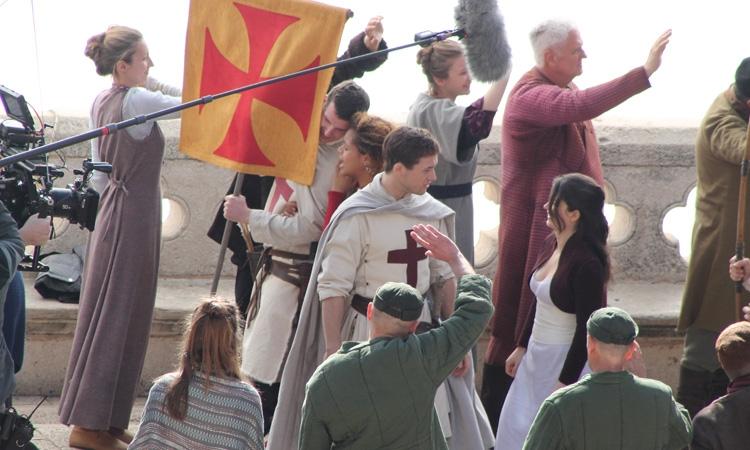 [PHOTOS] Robin Hood: Origins Filming Starts in Dubrovnik